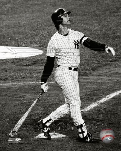 Don Mattingly New York Yankees MLB Action Photo 8x10 -