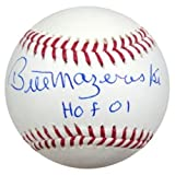 Bill Mazeroski Signed Rawlings Official Major League Baseball Pittsburgh Pirates HOF 01 - PSA/DNA Authentication - Autographed MLB Baseballs
