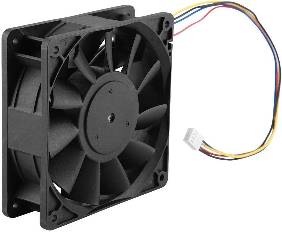 12V 4.8A Durable Cooling Exhaust Fan Industrial Cooling Fan Large Air Flow Biuzi Cooling Exhaust Fan