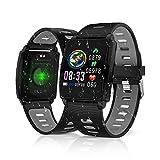 Smart Watch,KINGLINK Fitness Tracker Watch Waterproof Smartwatch 1.3 Inch TFT Color Screen
