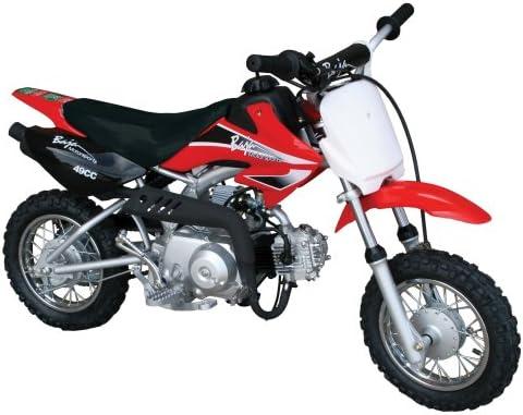 Amazon.com: Baja Motorsports DR49 Dirt Runner 49 Dirt Bike (Red): AutomotiveAmazon.com