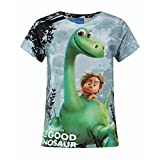The Good Dinosaur Childrens/Girls Official Arlo & Spot Forest Sublimation T-Shirt (Years (5/6)) (Multicoloured)