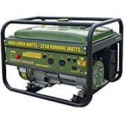 Sportsman GEN4065 4,000 Watt 7.0 HP OVH 4-Stroke Gas Powered Portable Generator
