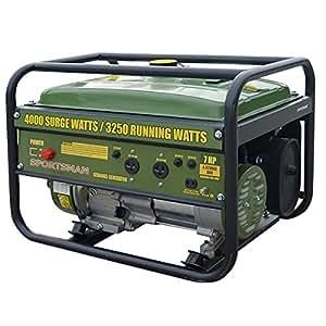 Sportsman GEN4065 4,000 Watt 7.0 HP OVH 4-Stroke Gas Powered Portable Generator