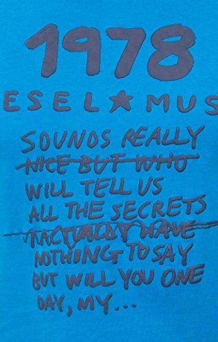 CAMISETA DIESEL 00SVR5-0091B-8HC AZUL Azul