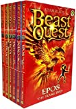 Beast Quest Pack: Series 1, 6 books, RRP £29.94 (Arcta the Mountain Giant, Epos the Flame Bird, Ferno the Fire Dragon, Nanook the Snow Monster, Sepron ... Serpent, Tagus the Horse-Man). (Beast Quest)