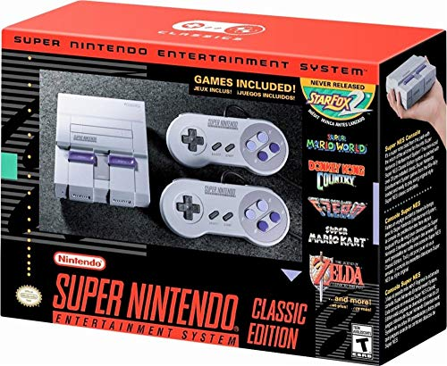 Super NES Classic (Renewed) (Super Nintendo Flashback)