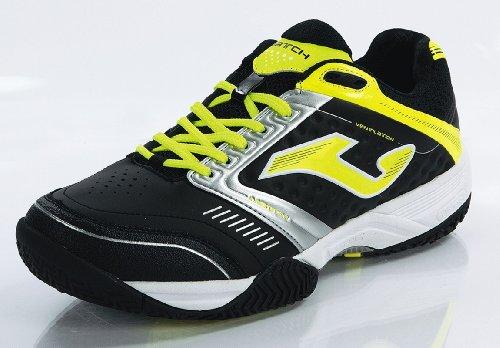 Joma - Zapatillas para deportes de interior de cuero para hombre negro negro negro - negro