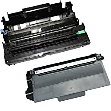 2PK-1 High Yield Toner Cartridge + 1 Drum Unit TN-750 DR-720 Inkfirst® Compatible Remanufactured for Brother TN-750 DR-720 (1 toner + 1 drum) HL-5440D HL-5450DN HL-5470DW HL-5470DWT HL-6180DW HL-6180DWT DCP-8110DN DCP-8150DN DCP-8155DN MFC-8510DN