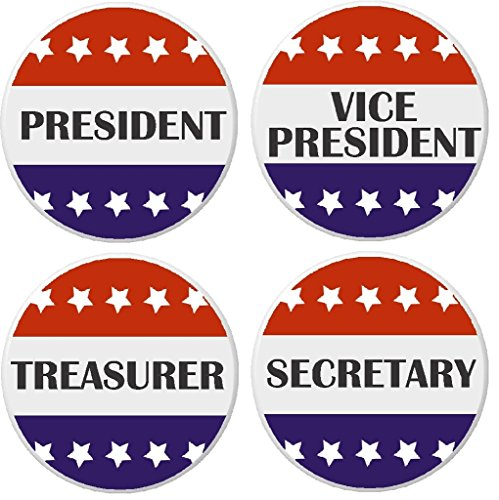 (Set 4 President / Vice / Treasurer / Secretary 2.25