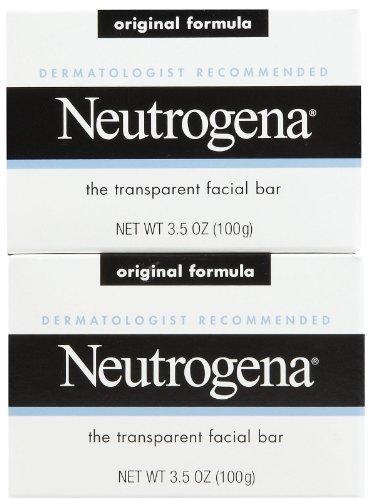 Neutrogena Face Cleansing Bar - Original - 3.5 oz - 2 pk