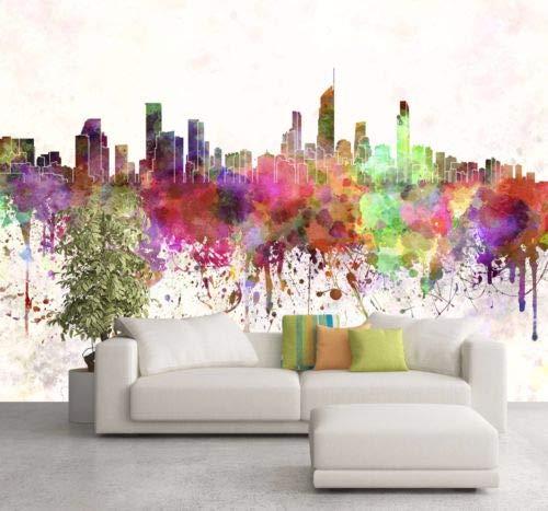 208cm x 146cm 3D Ink City Color 342 Wall Paper Wall Print Decal Wall Deco Indoor Wall Murals -