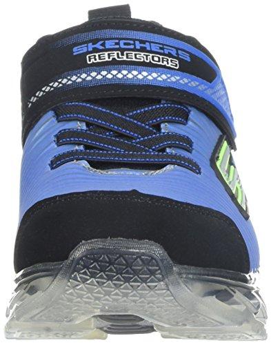 Para black Niños charge royal Negro Zapatillas Flex ronix Skechers wqZIz7S