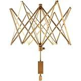 Stanwood Needlecraft Wooden Umbrella Swift Yarn Winder, Large