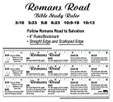 Romans' Road, Bible Study Ruler / bookmark, Clear (3)