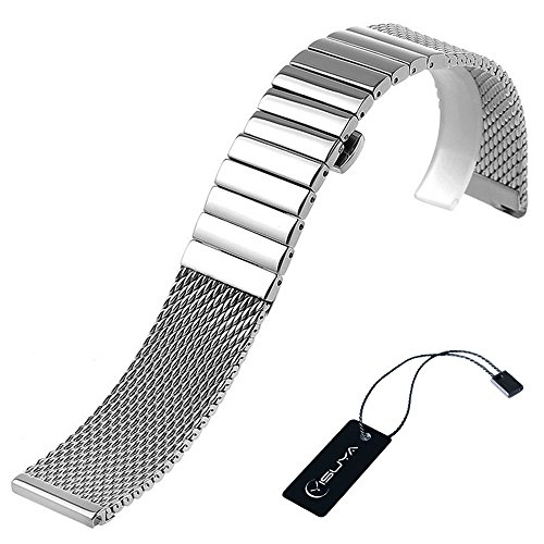Polished Stainless Steel Watch - 7