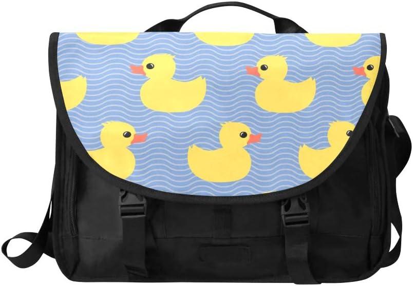 Satchels Handbags for Women Yellow Duck Funny Popular Animal Multi-Functional Womens Satchel Handbags Fit for 15 Inch Computer Notebook MacBook