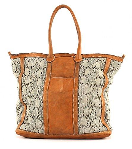 CATERINA LUCCHI Macramè Handbag Grey