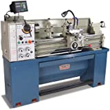 "Baileigh PL-1340E Dual Voltage Metal Lathe with DRO, 1-Phase 110/220V, 13"" Swing, 40"" Bed Length"