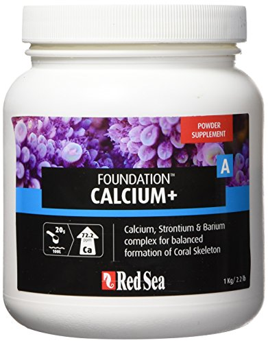 Red Sea Filtration - Red Sea Fish Pharm ARE22017 Reef Foundation Calcium/Strontium Supplement-A for Aquarium, 1kg