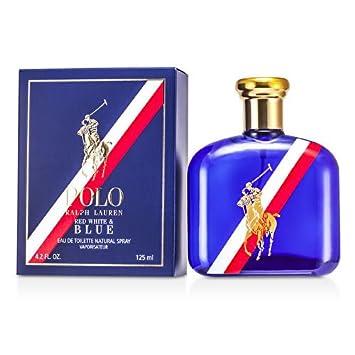 9d870013cb4 Polo Red White Blue Eau De Toilette Spray 125ml 4.2oz by Ralph Lauren   Amazon.co.uk  Beauty