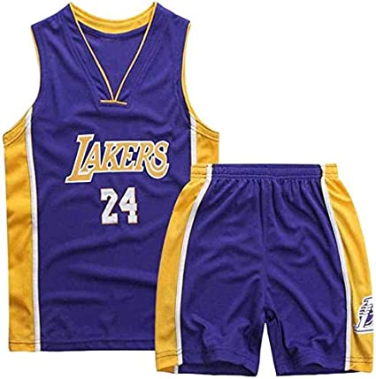 MMW Nuova Uniforme de Baloncesto Hombres Mujeres Lakers 8# Bryant Kobe Jersey Camiseta de Baloncesto Uniforme de Baloncesto Top Bordado Blanco-S