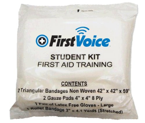 First Voice GFAT2 First Aid Training Kit (pack of 10) by First Voice (Image #1)