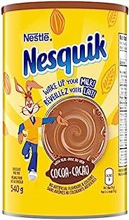 NESTLÉ NESQUIK Chocolate Powder, 540 g - PACKAGING MAY VARY