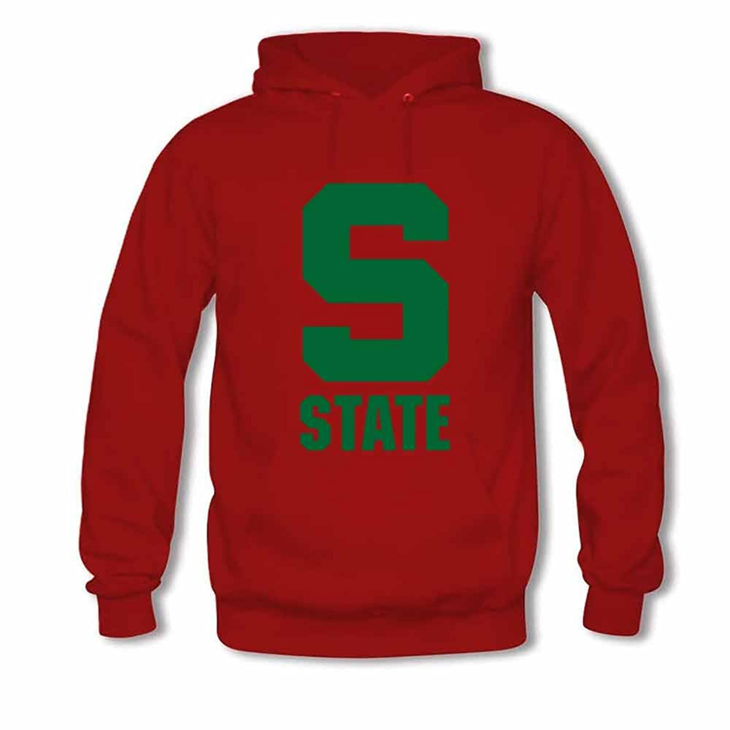 2017 New Design Mens S-state Cotton Pullover Long Sleeve Hoodie