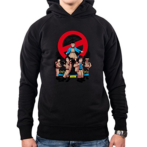 Hombre Capucha Busters Black Con Tv Sudadera Demon Pacdesign Vt0017a Stranger Things Series Ux74q