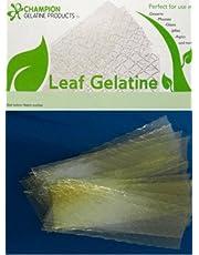 Gelatine Silver Leaf by Champion, 20 sheets