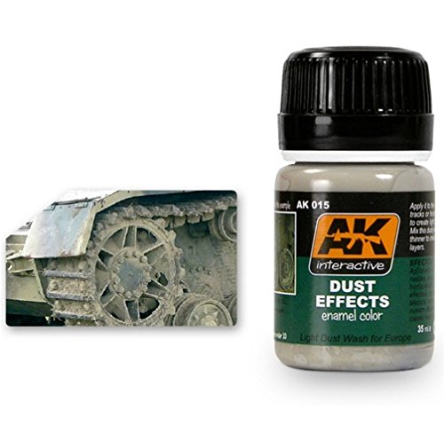 AK00015 AK Interactive - Dust Effects model making enamel washes   B00B4AX4TY