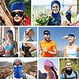 5 Pieces Sun UV Protection Face Mask Neck Gaiter