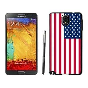 American Flag Samsung Galaxy Note 3 TPU Case Soft Silcon USA Flag Black Cover Mobile Phone Accessories