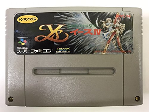 Ys IV - Mask of the Sun for snes super nintendo sfc super famicom
