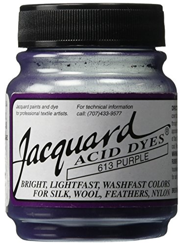 Acid Dyes (Jacquard Acid Dyes 1/2 Ounce-Purple)