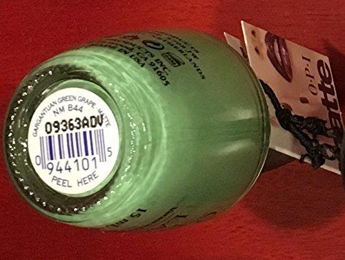 GARGANTUAN GREEN GRAPE Matte NM B44 Nail Polish Lacquer .5oz 1 Bottle