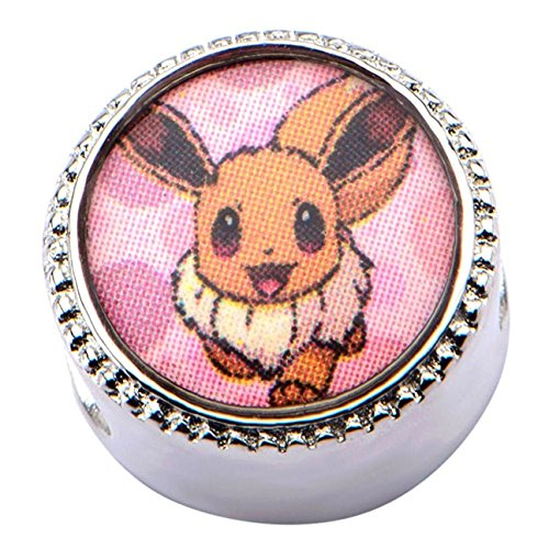 Officially Licensed Pokemon Eevee Bead Slider Charm