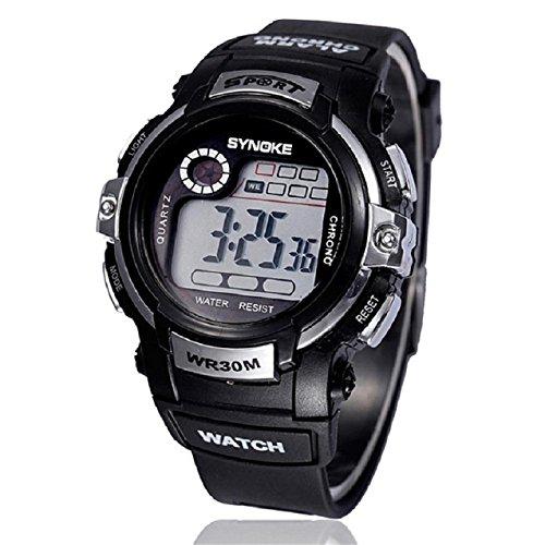 Price comparison product image Malloom Boy Sports Waterproof Digital LED Quartz Alarm Date Brand Wrist Watch...