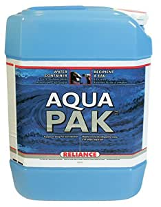Reliance Products Aqua-Pak 5 Gallon Rigid Water Container