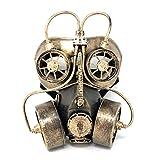 Storm buy] Steampunk Respirator Metallic Spiked