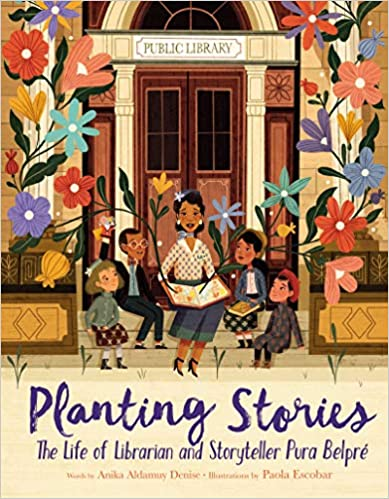 cover image, Planting Stories