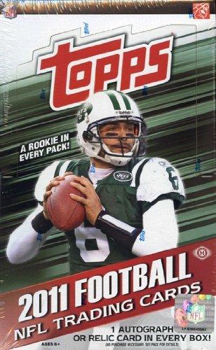 2011 Topps NFL Football HOBBY box (36 pk) (Football Card Box 2011 compare prices)