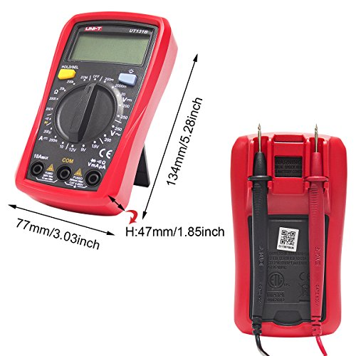 Signstek Maintenance and Test Electrical Test Kit, Including Palm Size Multimeter, Receptacle Tester and AC Voltage Detector by Signstek (Image #2)