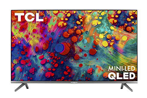 🥇 TCL 55″ 6-Series 4K UHD Dolby Vision HDR QLED Roku Smart TV – 55R635