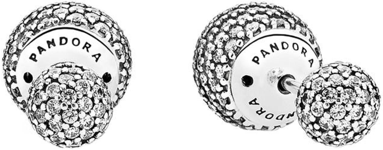 Pandora Colgantes de botón Mujer plata
