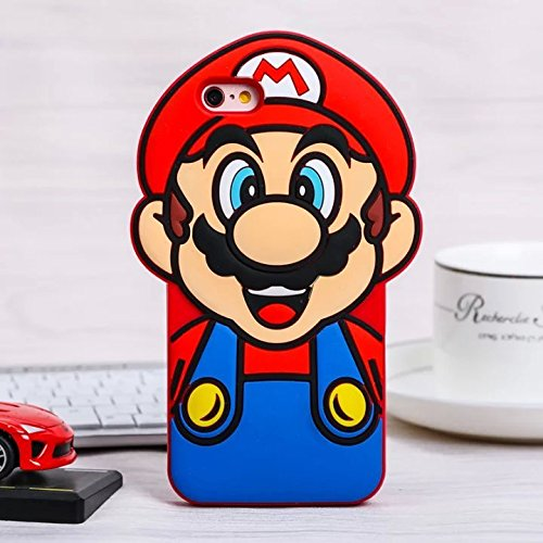 Cute Mario Bros - iPhone6 Case iPhone6s Back Cover Soft