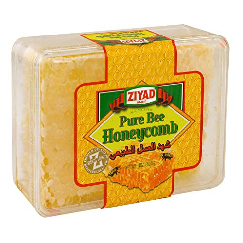 Ziyad All-Natural Pure Bee Honeycomb, 14 OZ ()