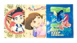 School Supplies- Classic Pocket Folders Dory, Jake, and Dora- Pack of 3