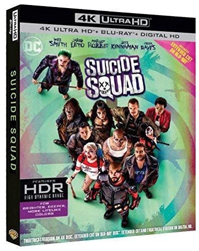 Suicide Squad Blu-Ray 4K Ultra HD+Blu-Ray+Digital Copy Blu-ray: Amazon.es: Will Smith, Jaime Fitzsimons, Ike Barinholtz, Margot Robbie, Christopher Dyson, Bambadjan Bamba, Viola Davis, Ted Whittall, David Harbour, Robin Atkin Downes, David Ayer: